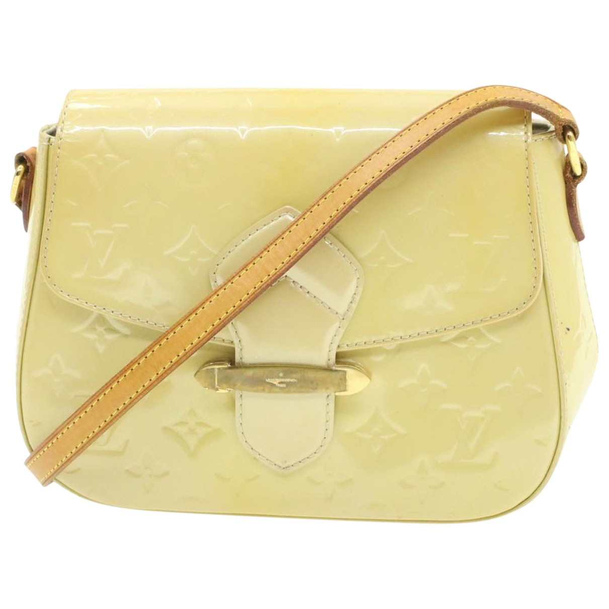 Bolso Bellflower de Charol Louis Vuitton