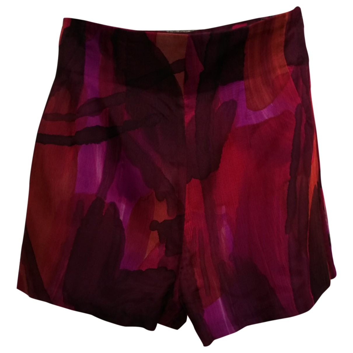 Non Signe / Unsigned \N Shorts in  Bunt Seide