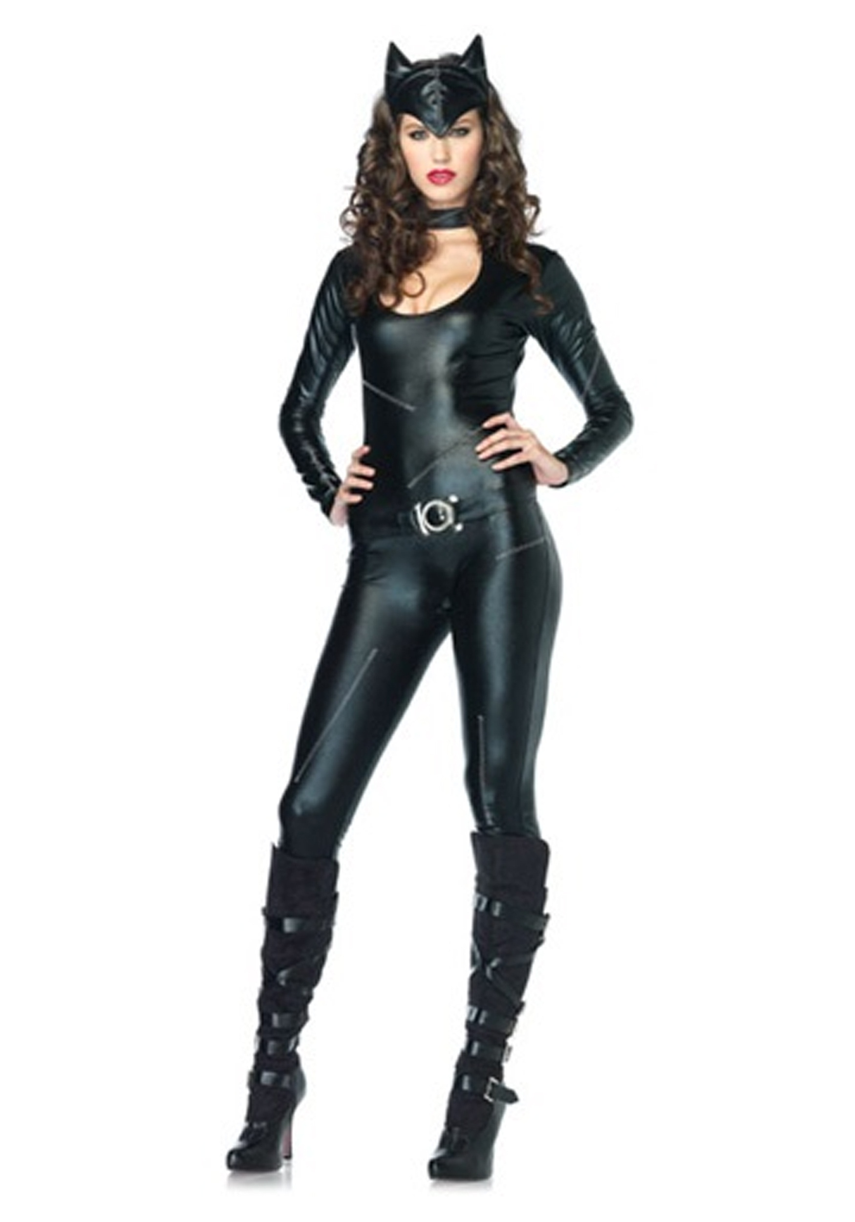 Sexy Feline Catsuit Costume for Women   Sexy Halloween Costume for Women