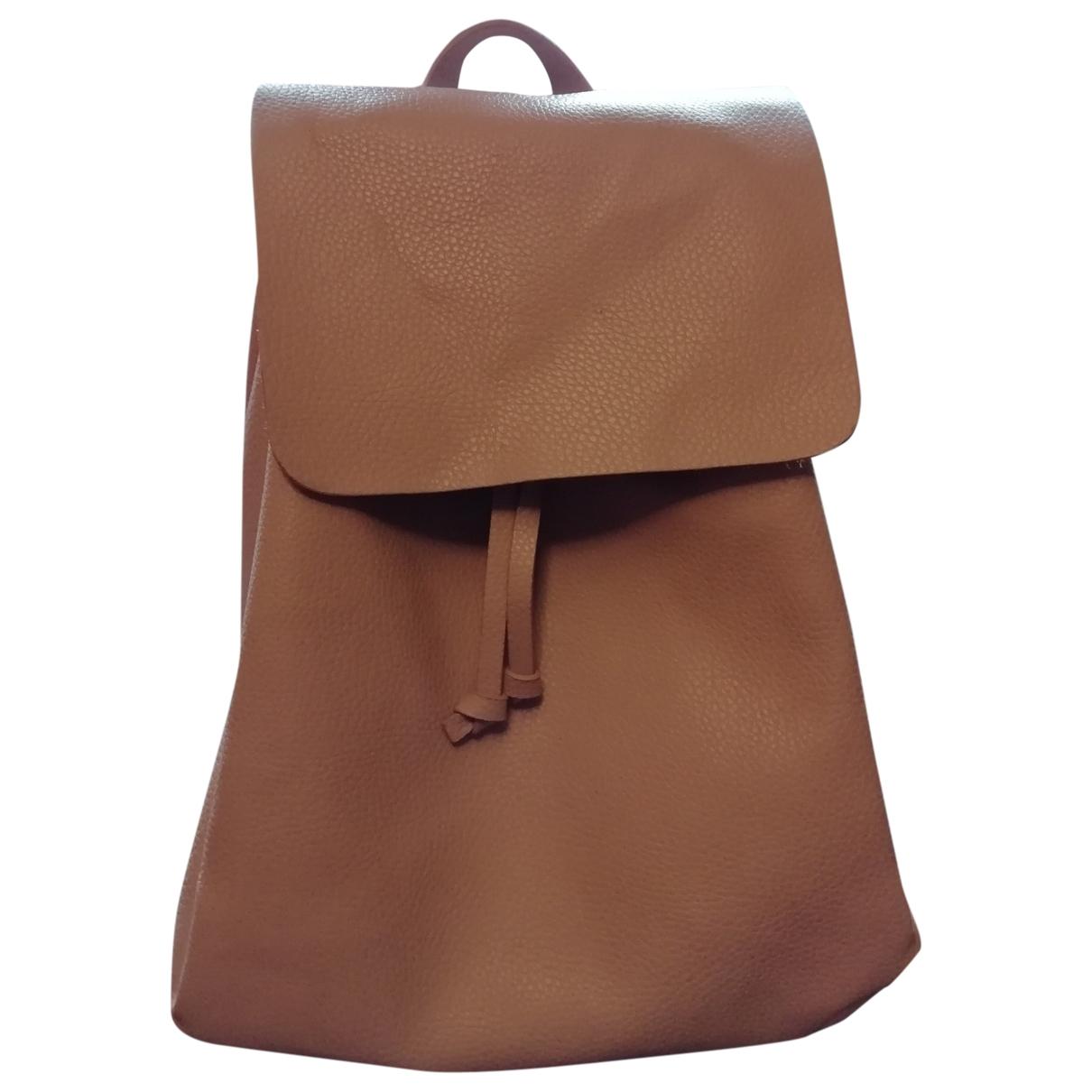 Zara \N Pink backpack for Women \N