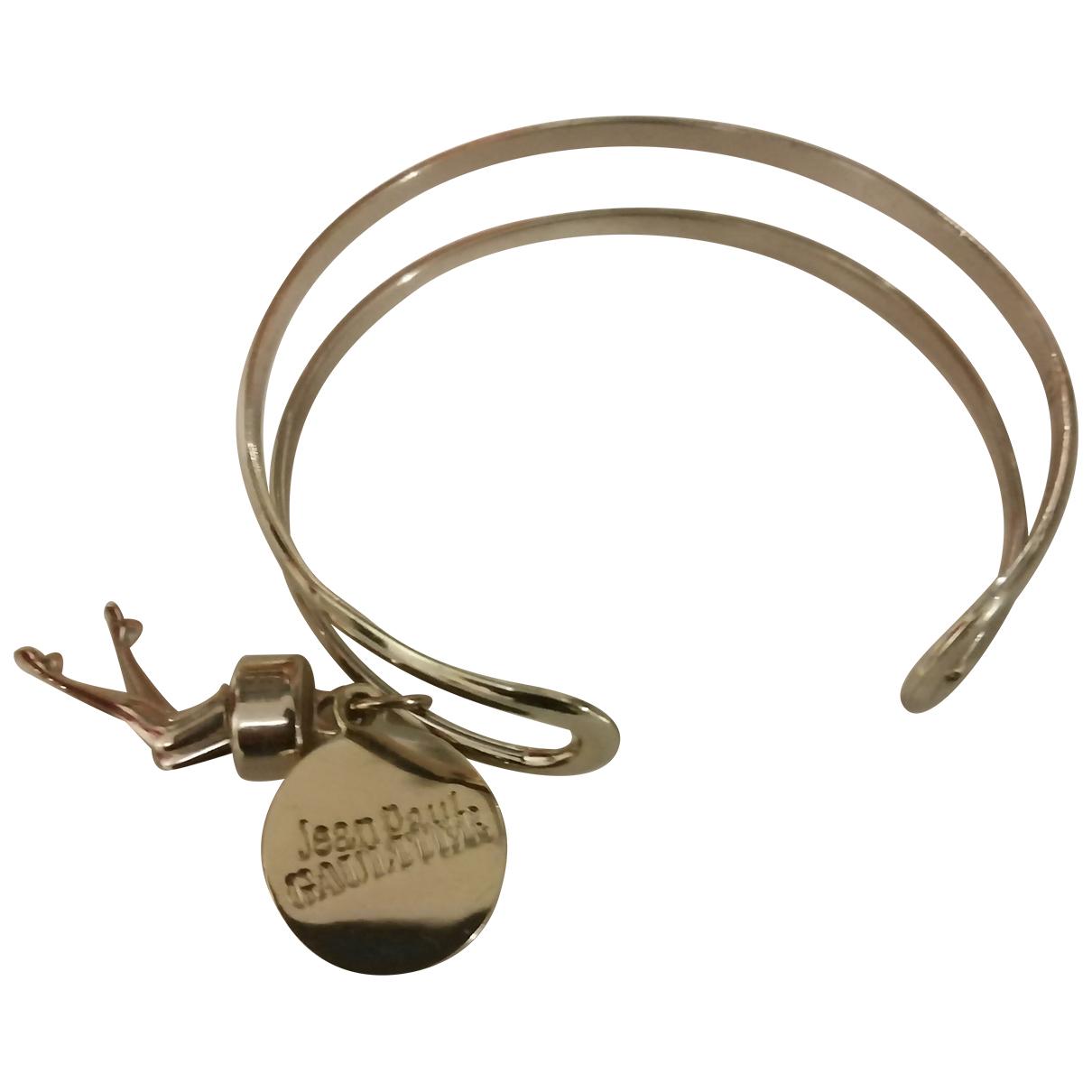 Jean Paul Gaultier N Gold Metal bracelet for Women N