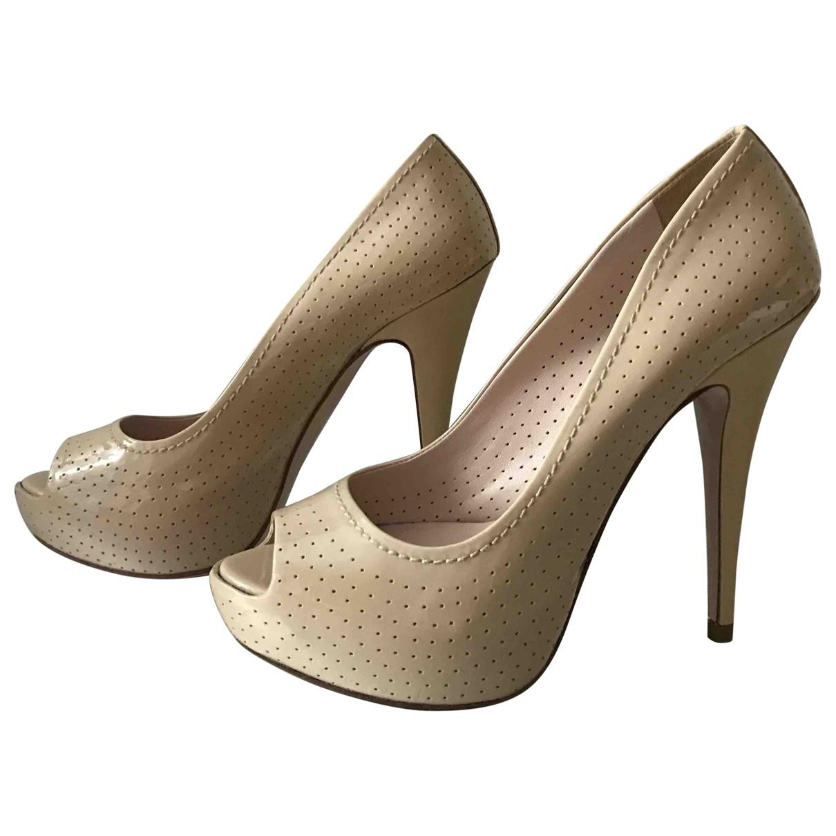 Miu Miu \N Patent leather Heels for Women 37 EU