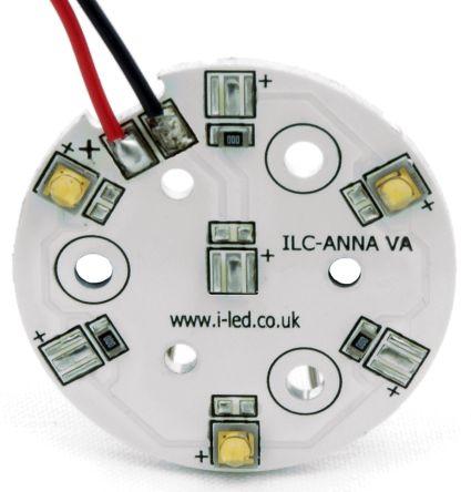 Intelligent LED Solutions ILS ILC-ONA3-HYRE-SC211-WIR200., OSLON 80 PowerAnna Coin Circular LED Array, 3 Red LED
