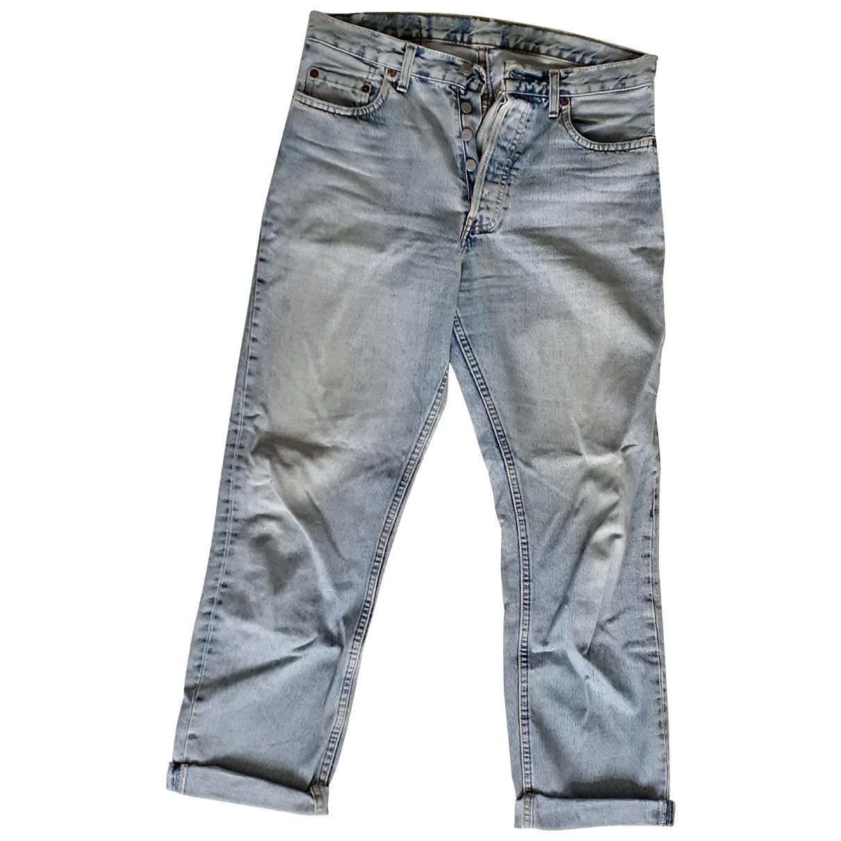 Levi's 501 Blue Denim - Jeans Jeans for Women 32 US