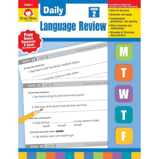 Evan Moor® Daily LanGauge Review, Grade 2 By Evan-Moor Educational Publishers | Michaels®