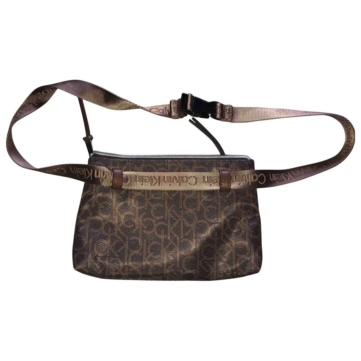 Calvin Klein \N Brown Clutch bag for Women \N