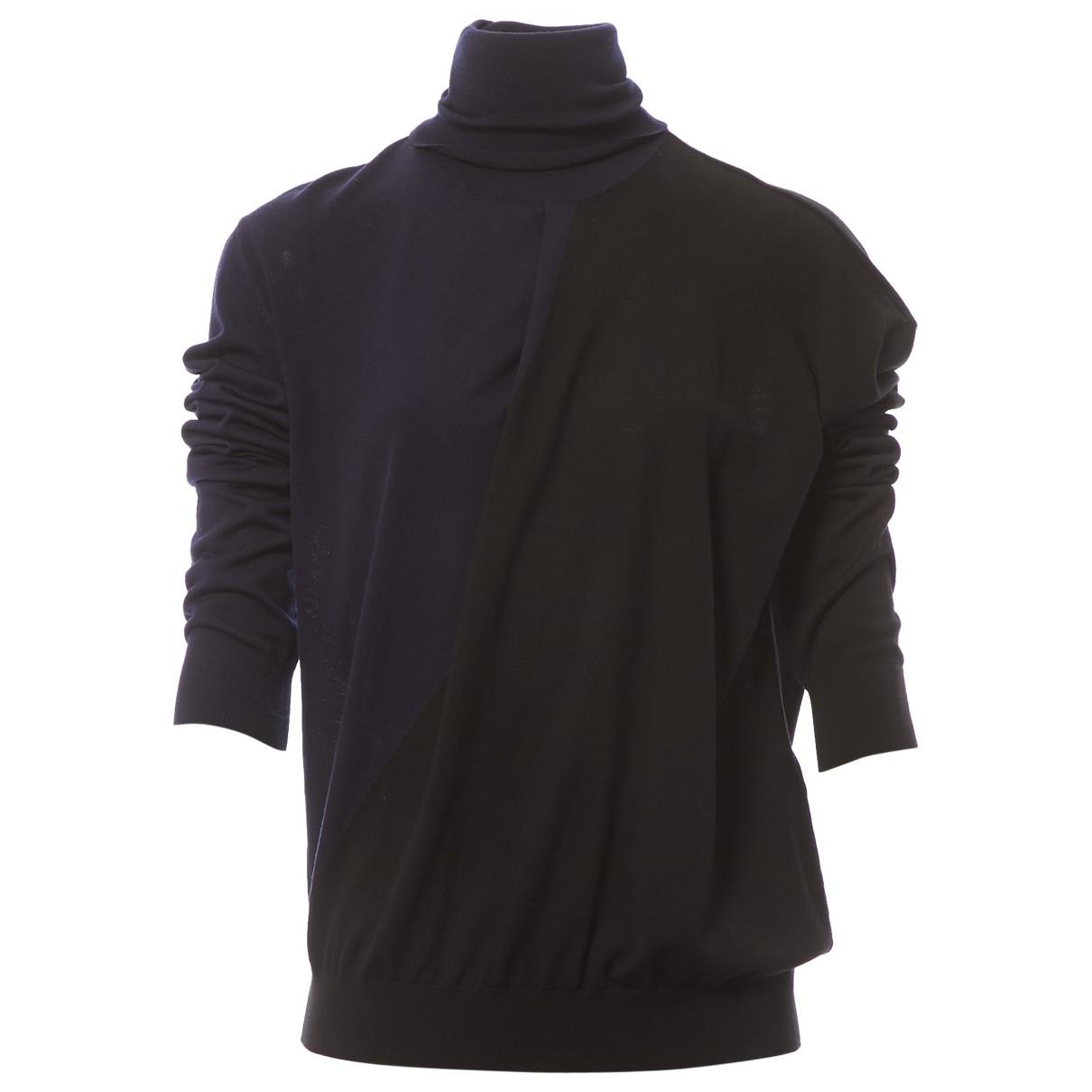 Celine \N Pullover in  Schwarz Wolle