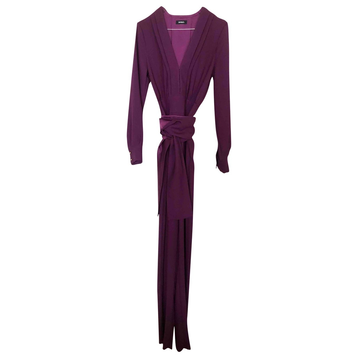 Max & Co \N Purple jumpsuit for Women 6 UK