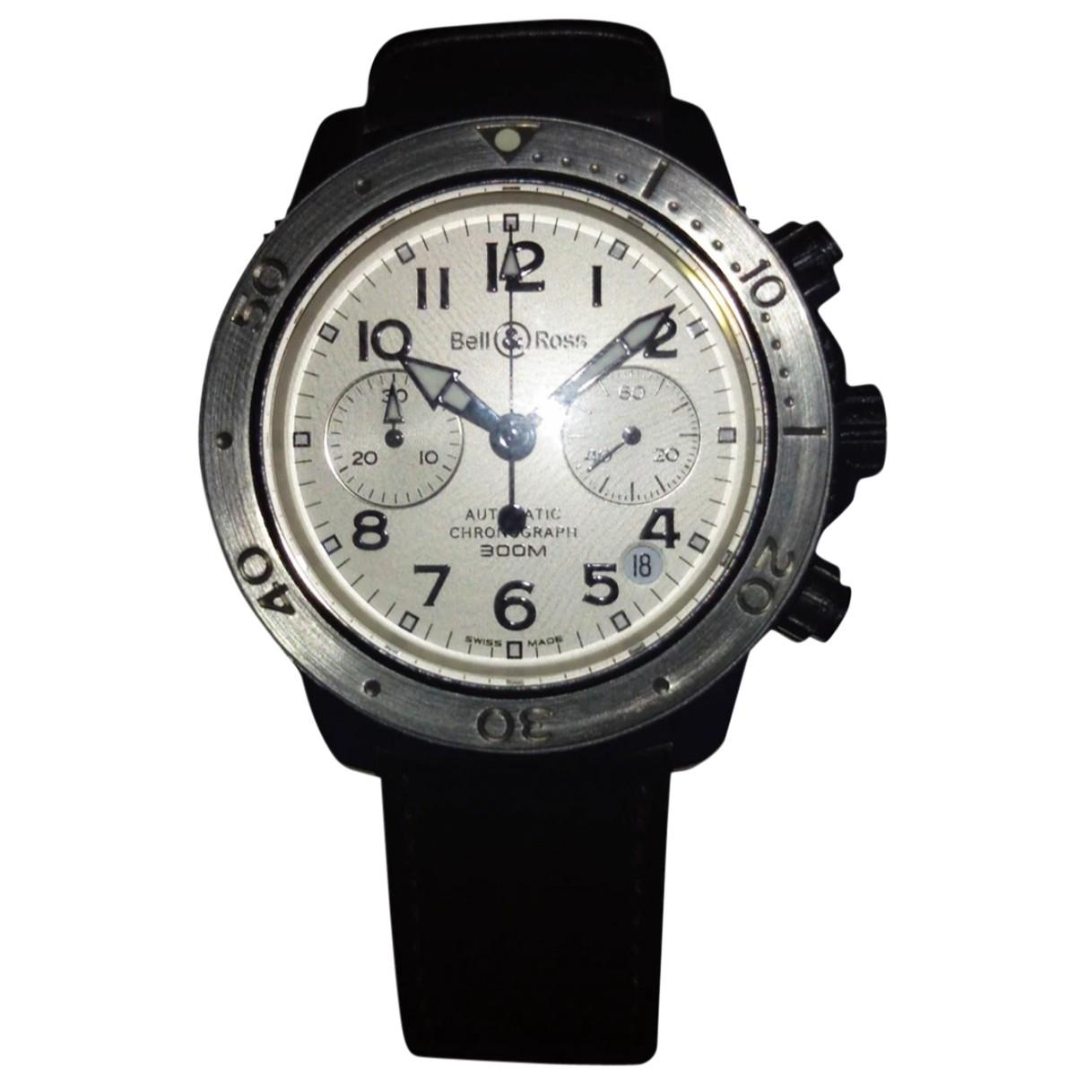 Bell & Ross N White Steel watch for Men N