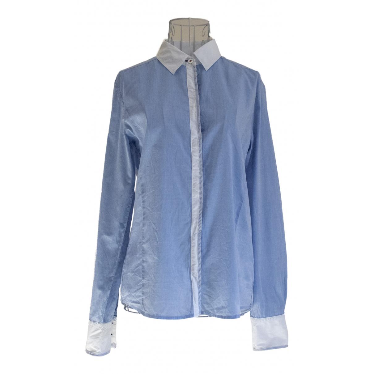 Bogner - Top   pour femme en coton - bleu
