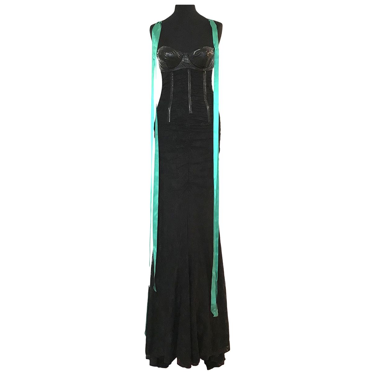 Maxi vestido de Encaje D&g
