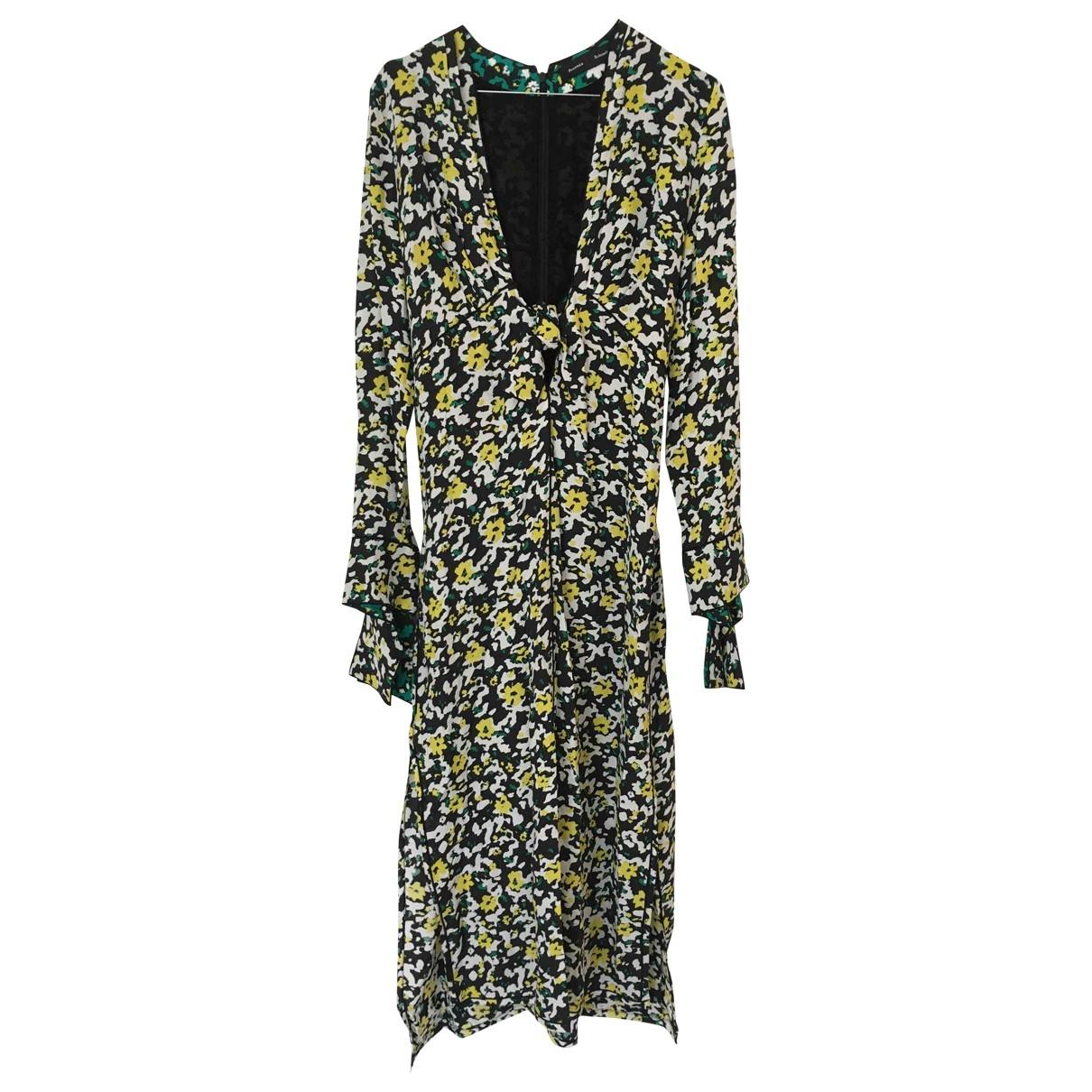 Proenza Schouler \N Kleid in  Bunt Viskose