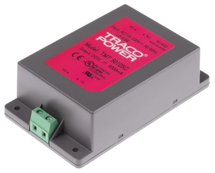 TRACOPOWER , 50W Embedded Switch Mode Power Supply SMPS, 5V dc, Encapsulated, Medical Approved