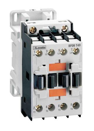 Lovato 4 Pole Contactor - 32 A, 24 V ac Coil, 4NO, 7.5 kW