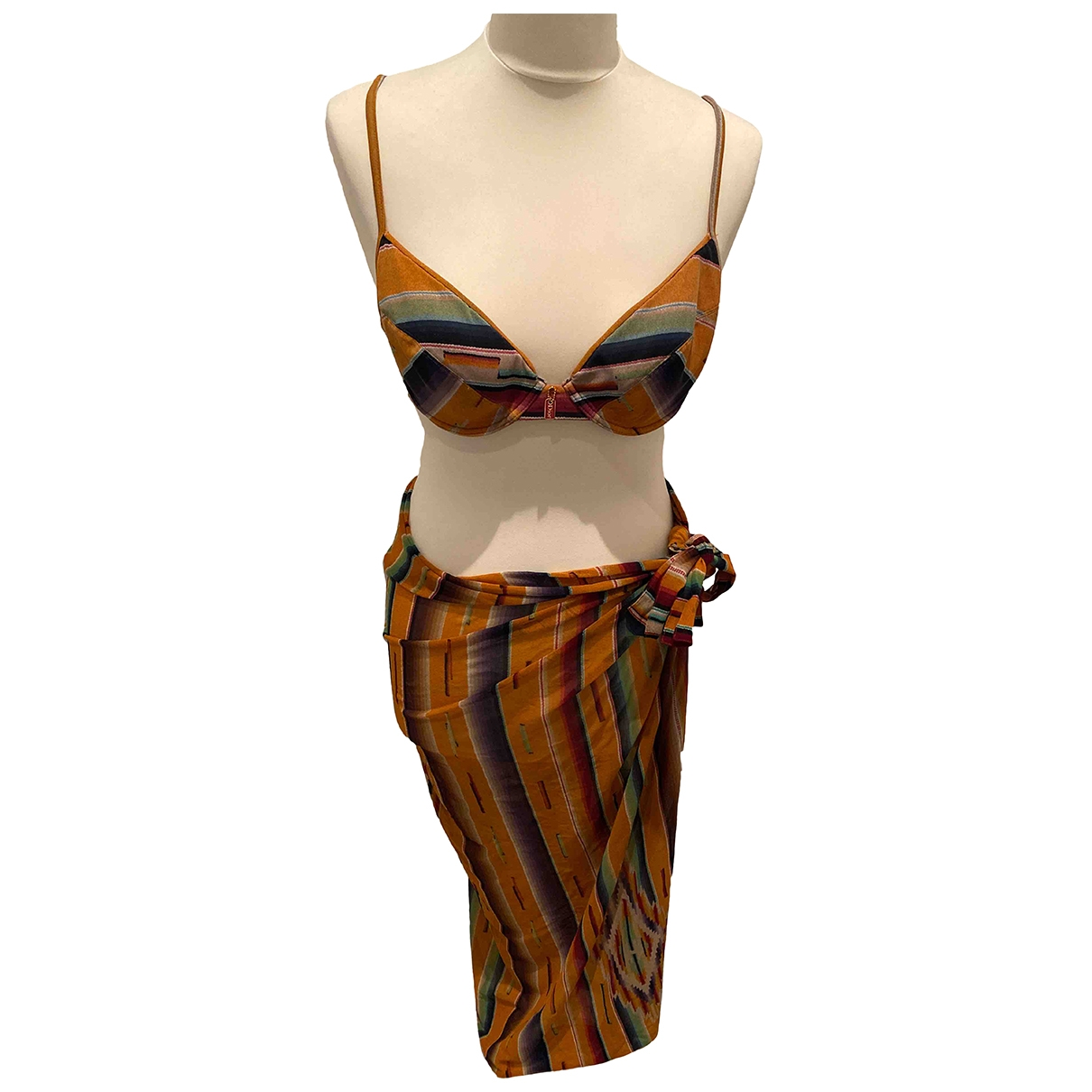 Dior \N Badeanzug in  Orange Polyester