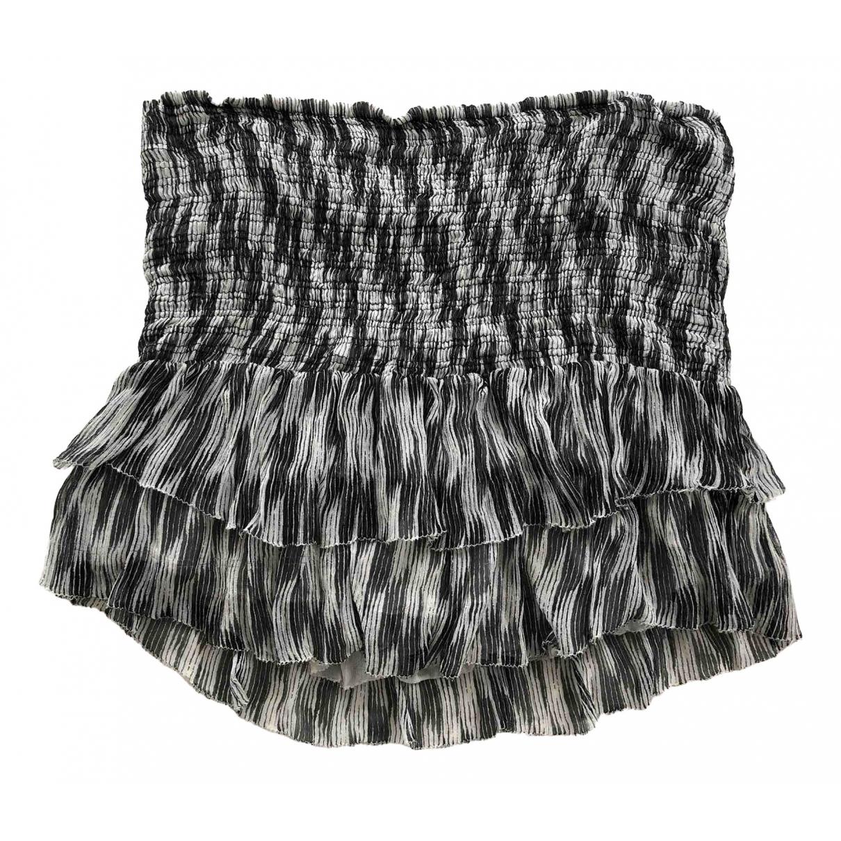 Isabel Marant Etoile - Jupe   pour femme en soie - noir