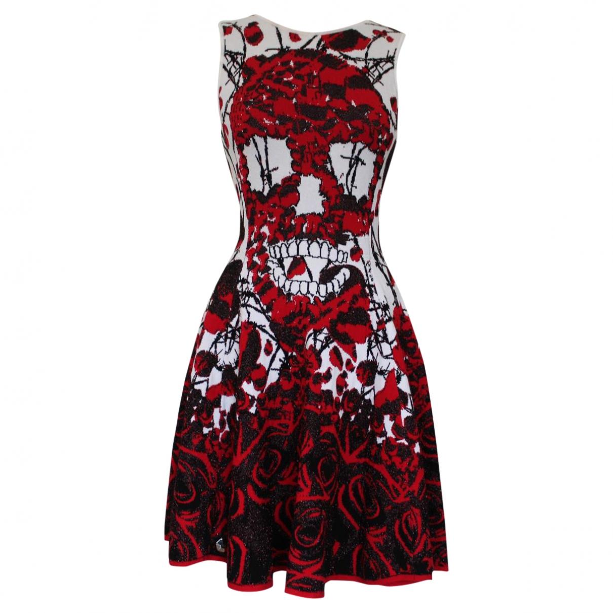 Philipp Plein \N Kleid in  Rot Viskose