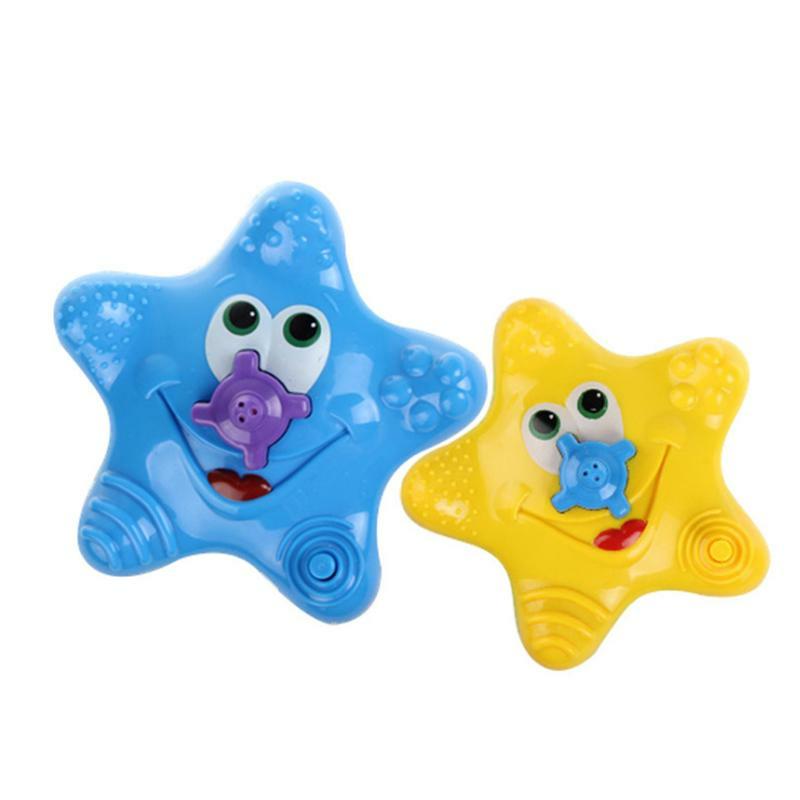 Cikoo Bath Toys for Baby Kids Bathtub Bathroom Swimming Pool Beach Electric Starfish Floating Water Toys