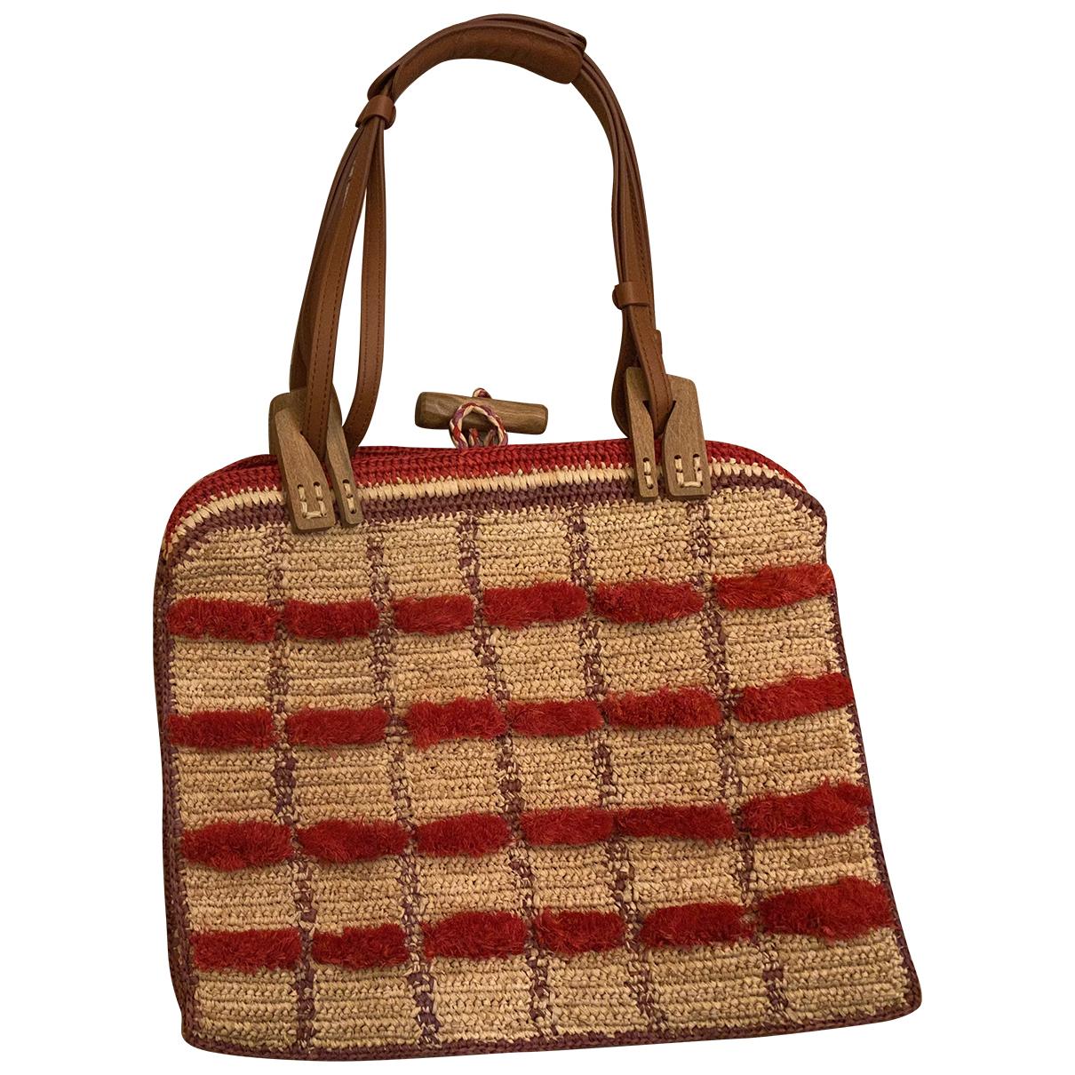 Jamin Puech \N Handtasche in  Rot Leinen