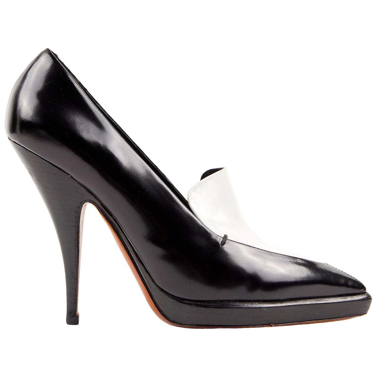 Celine - Escarpins   pour femme en cuir - noir