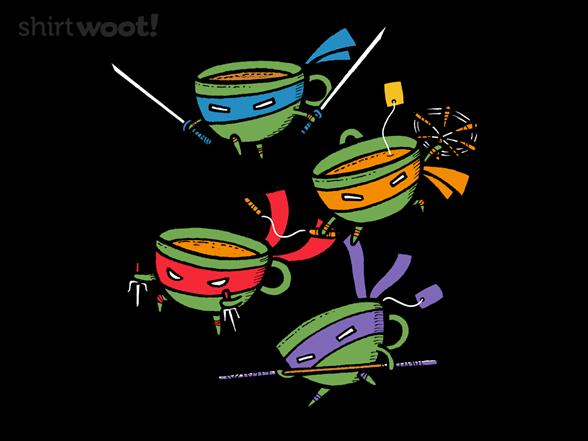 Teanage Mutant Ninja Teacups T Shirt