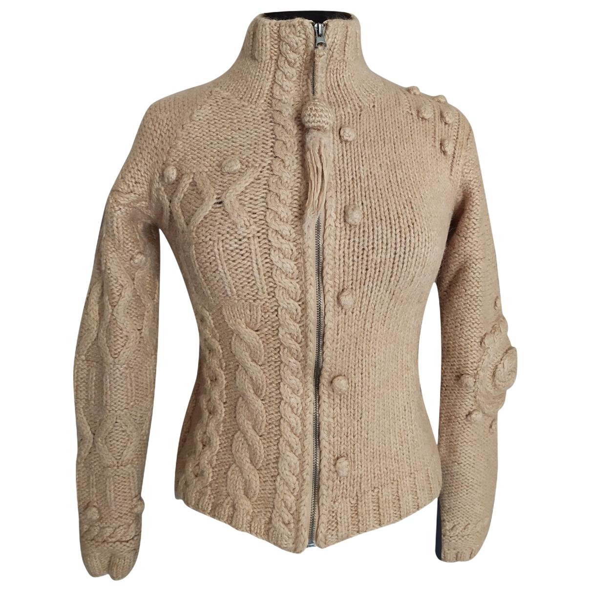 Ikks - Pull   pour femme en laine - beige