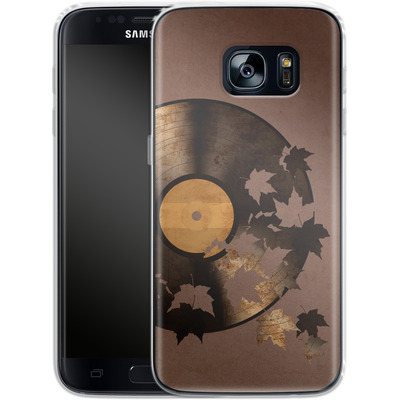 Samsung Galaxy S7 Silikon Handyhuelle - Autumn Song von Terry Fan