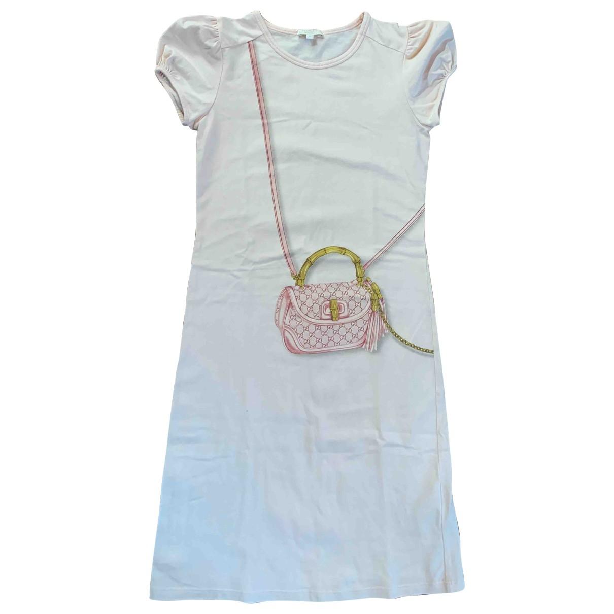 Gucci - Robe    pour enfant en coton - rose
