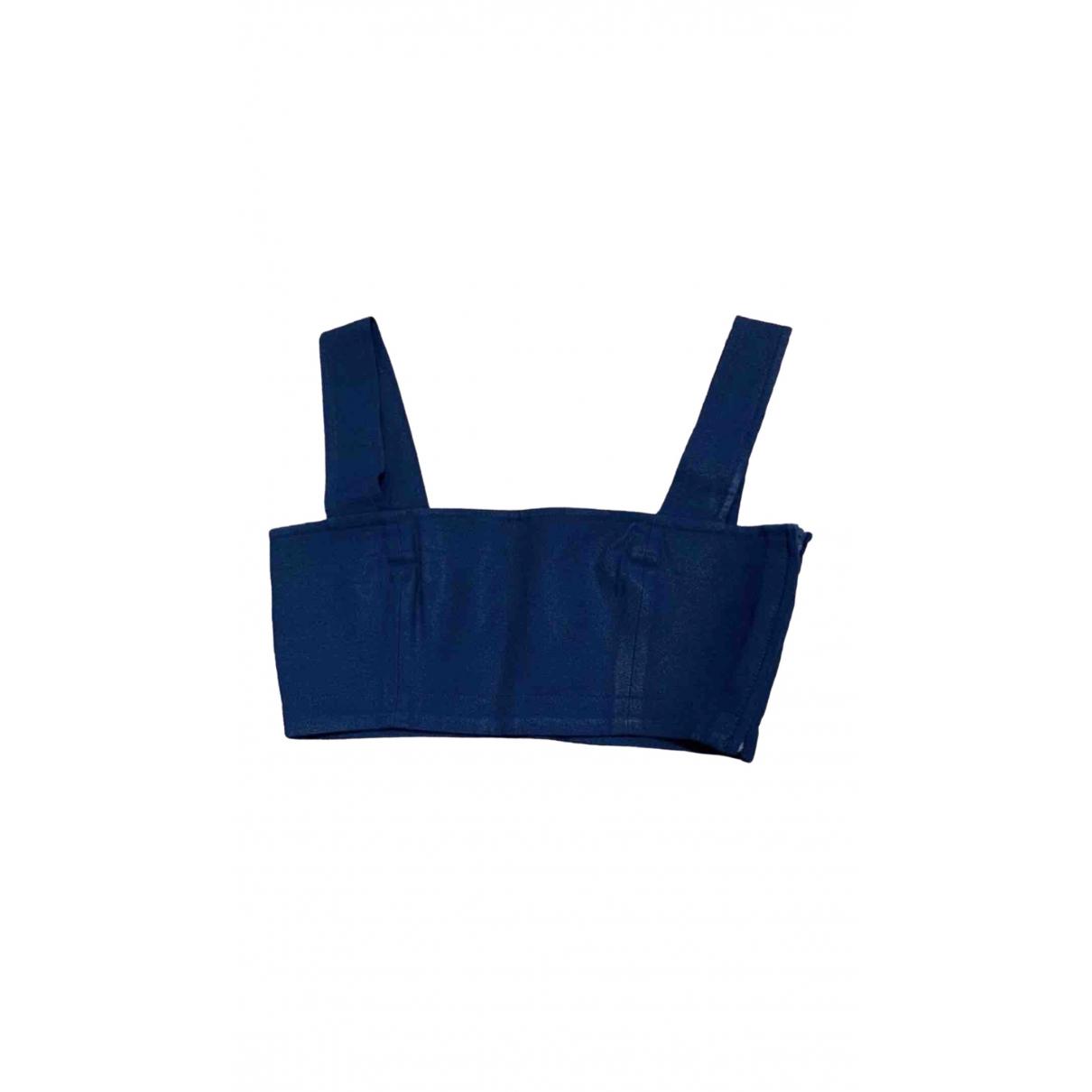 Yves Saint Laurent - Top   pour femme - bleu