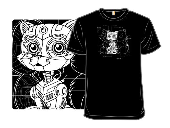 Cat Inside T Shirt
