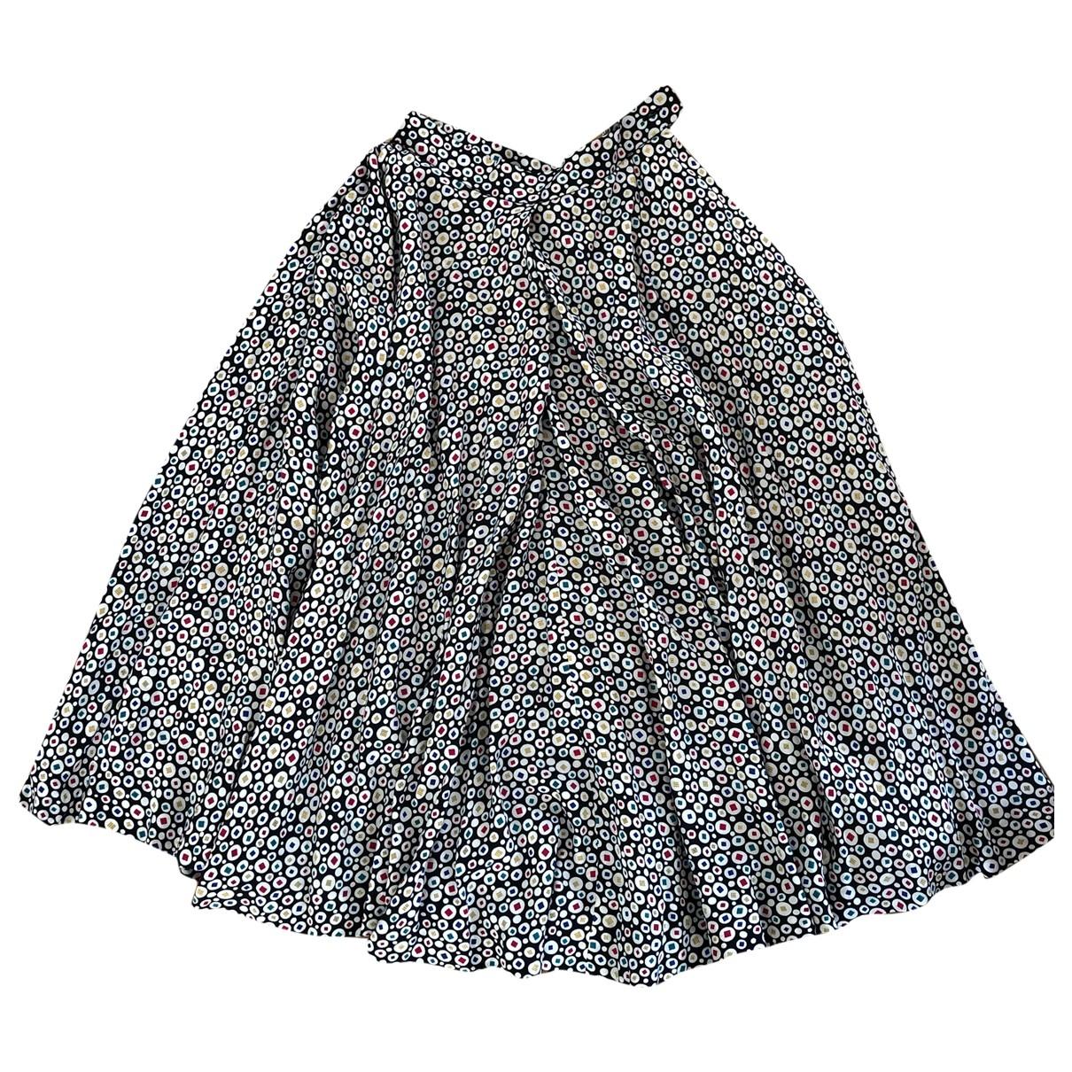 Falda maxi de Seda Lanvin