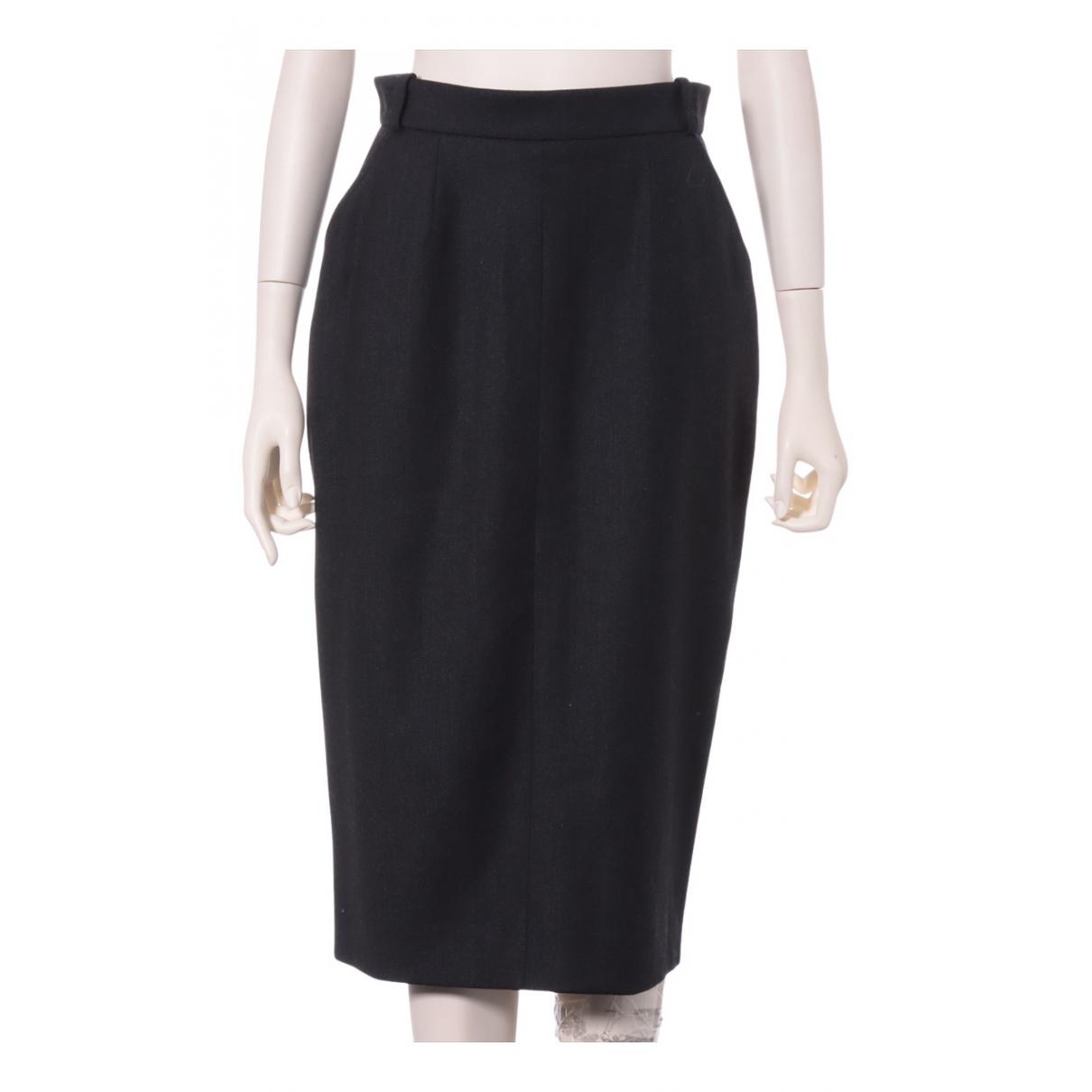Chanel N Grey Wool skirt for Women 40 FR