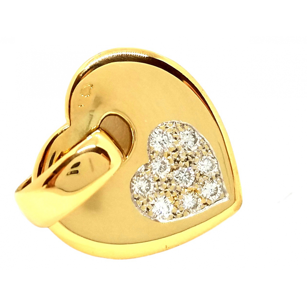 Autre Marque \N Anhaenger in  Gold Gelbgold