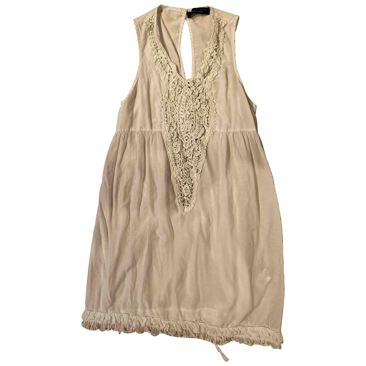 Twin Set \N Blue Cotton - elasthane dress for Women S International
