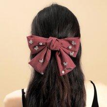 Haarspange mit Schleife Dekor