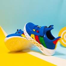 Toddler Boys Color Block Mesh Sneakers