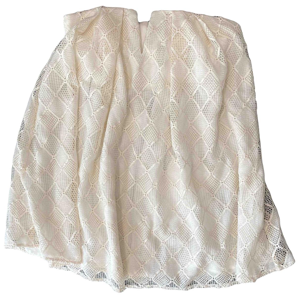 Style Stalker \N Kleid in  Weiss Polyester