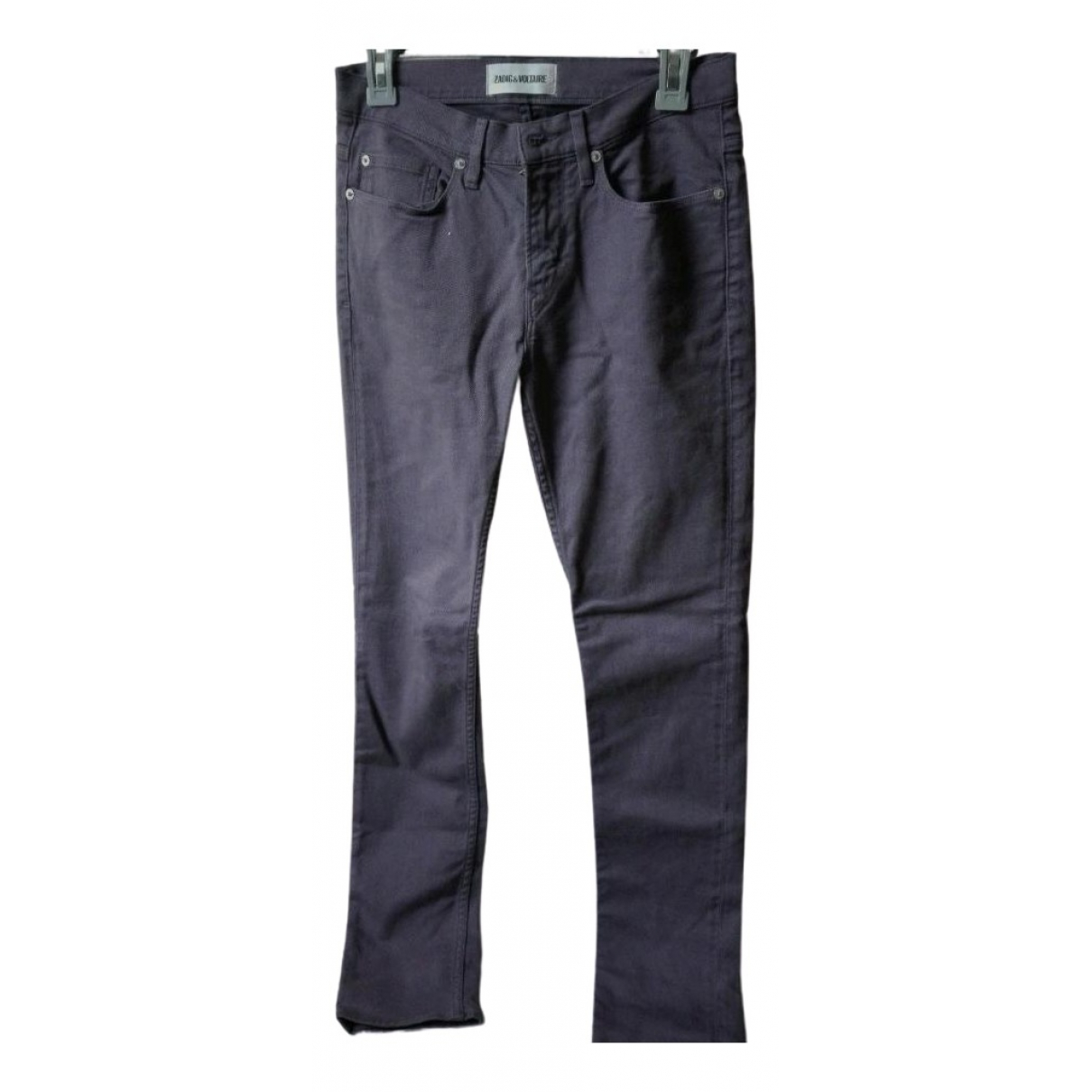 Zadig & Voltaire \N Jeans in  Lila Denim - Jeans