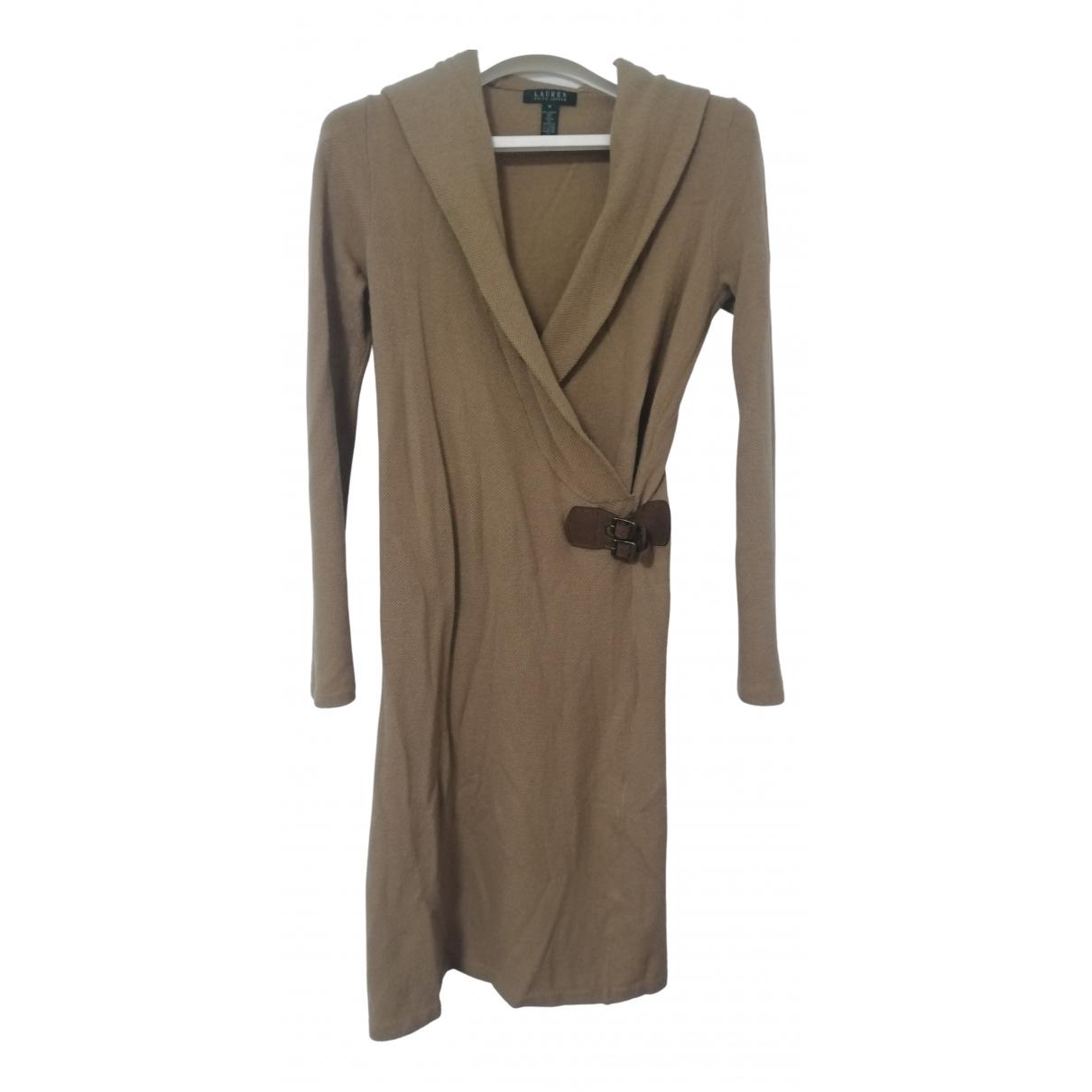 Lauren Ralph Lauren \N Kleid in  Beige Wolle