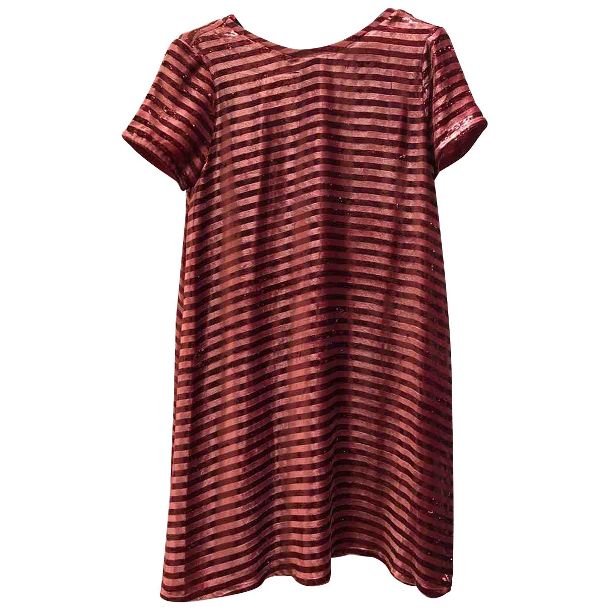 Hoss Intropia \N Kleid in  Rot Viskose