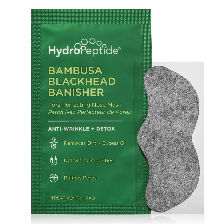 HydroPeptide BAMBUSA BLACKHEAD BANISHER Pore Perfecting Nose Mask (8 treatments)