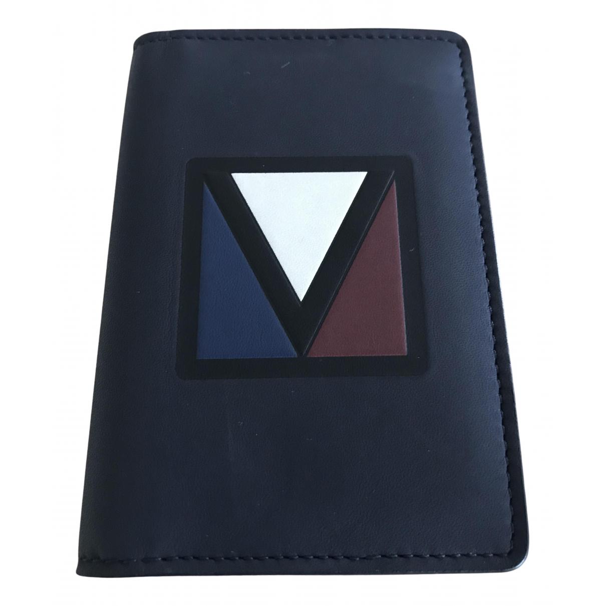Louis Vuitton - Petite maroquinerie Pocket Organizer pour homme en cuir - marine