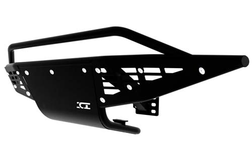 Ford Raptor Front Bumper 10-14 Ford Raptor Black Powdercoat Baja Series ICI Innovative Creations PRF302FD