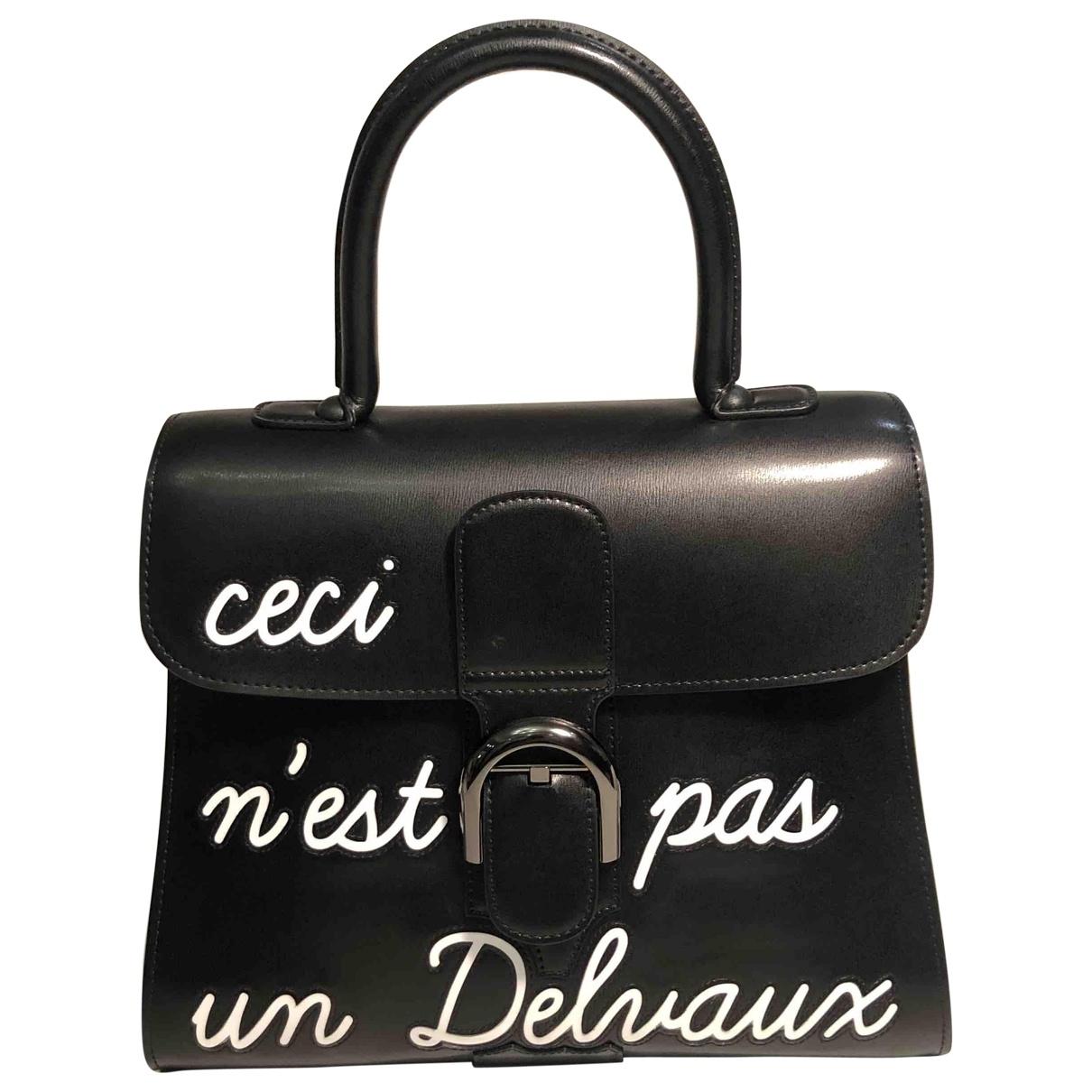Delvaux Le Brillant Black Leather handbag for Women \N