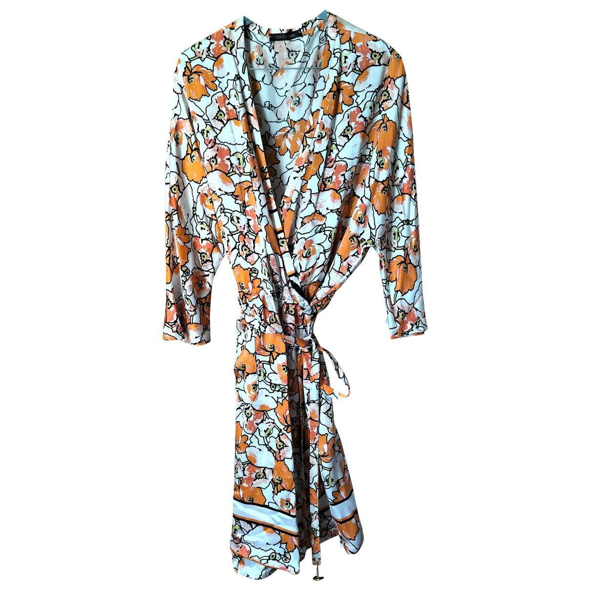 Vestido de Seda Roberto Cavalli