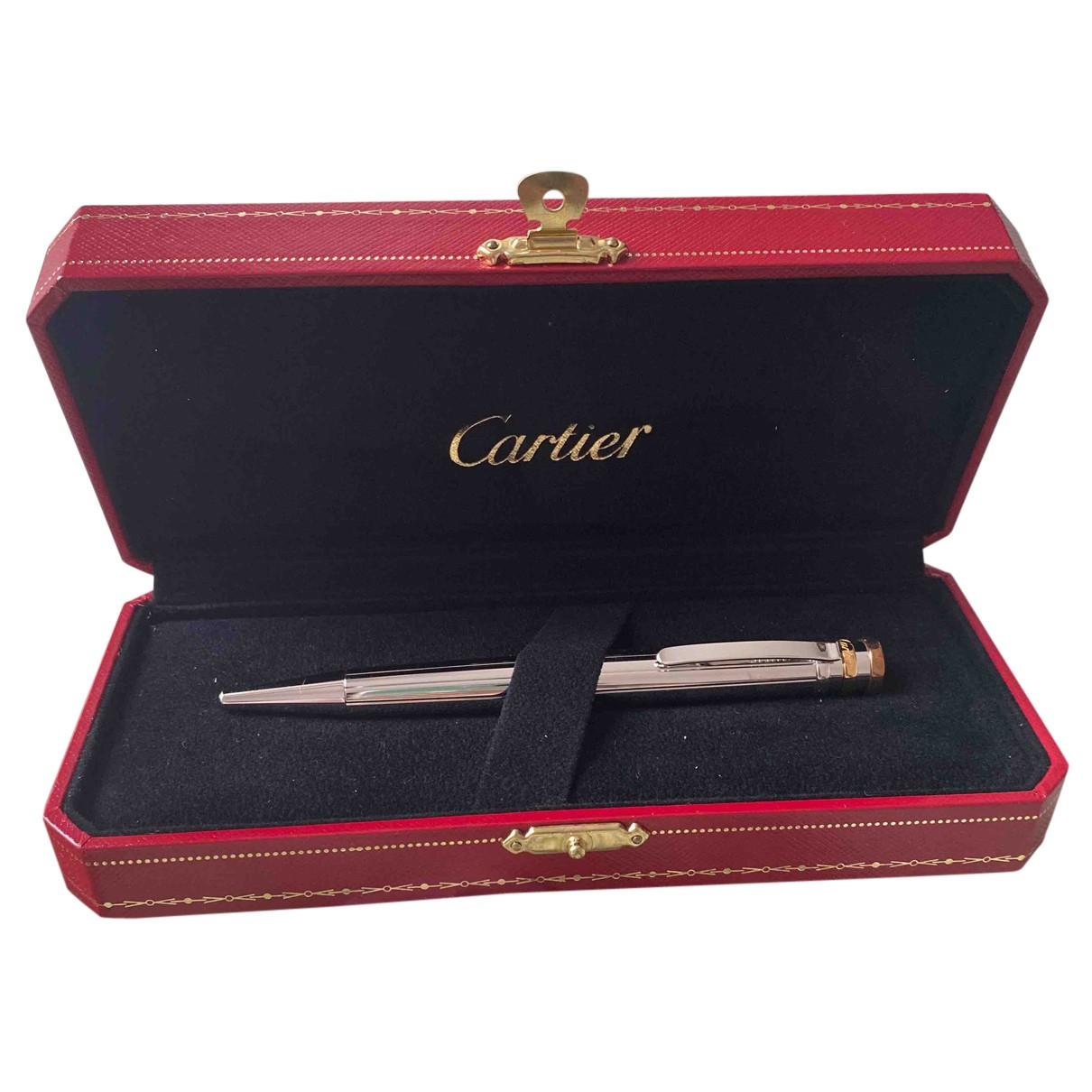 Boligrafo Must bille de Plata Cartier