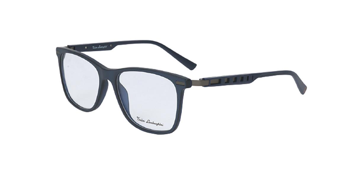 Tonino Lamborghini TL309V V02 Men's Glasses Blue Size 55 - Free Lenses - HSA/FSA Insurance - Blue Light Block Available