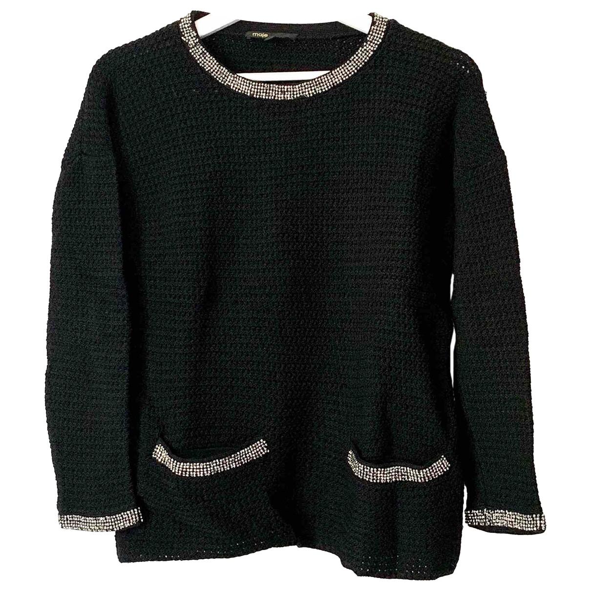 Maje \N Black Knitwear for Women 36 FR
