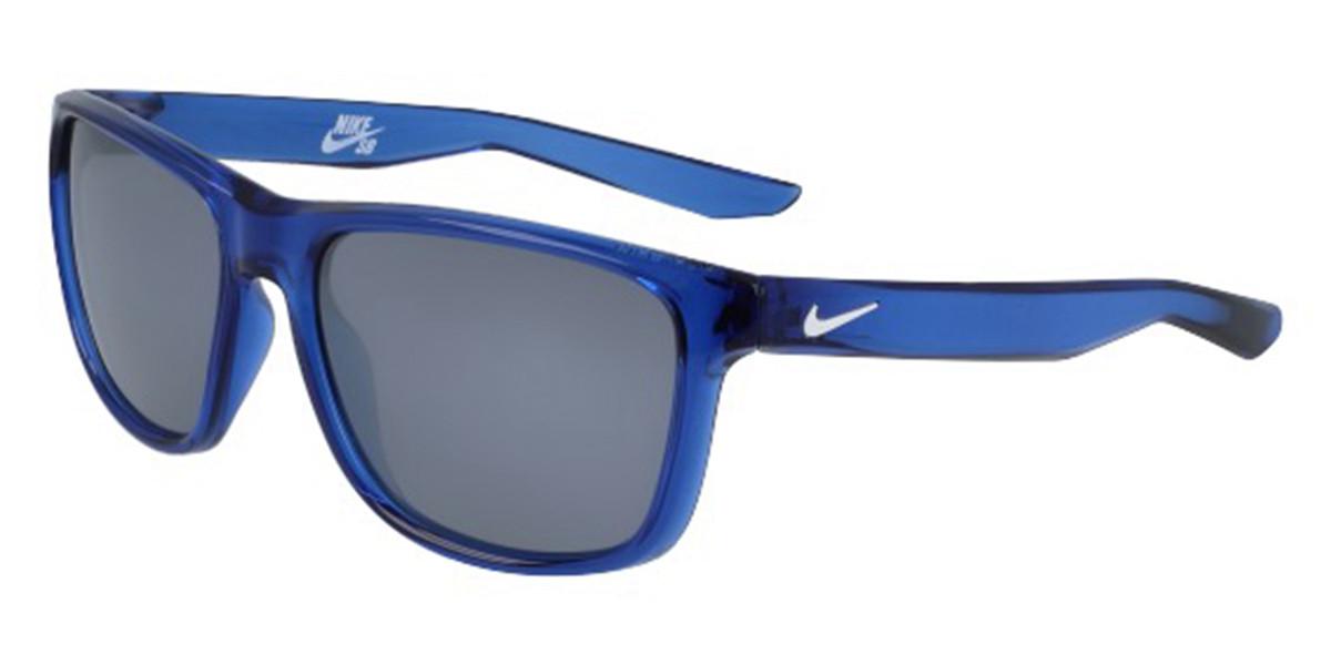 Nike FLIP EV0990 410 Men's Sunglasses Blue Size 53