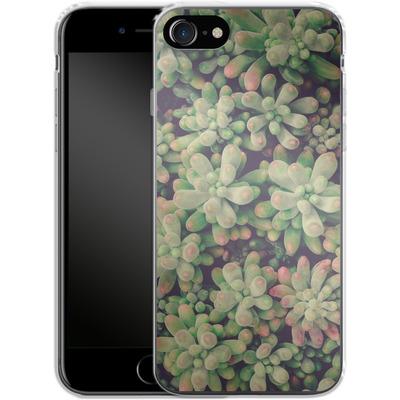 Apple iPhone 8 Silikon Handyhuelle - Kingwood Soft Cactus von Joy StClaire